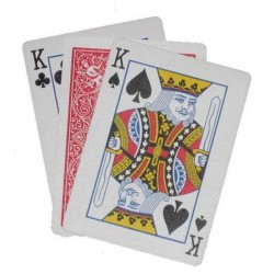 Your card appears between 2 cards   (0106)