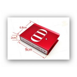 Aluminum DD Card Protector (Red) (0544)