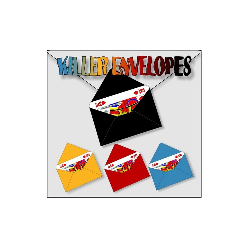 Killer Envelopes (Rood) - 0053c